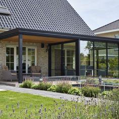 Pergola Ideas For Patio, Pergola Patio, Backyard Patio, 1930s House Exterior, Modern Farmhouse Exterior, House Extension Plans, House Extension Design, Garden Room Extensions, House Extensions