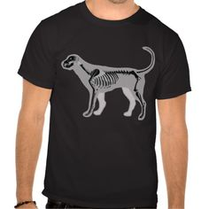 DOG ANATOMY X-RAY VET TSHIRTS