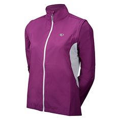 Pearl Izumi Women's Select Barrier Convertible Jacket, Orchid, Medium  Special Offer: $29.99  188 Reviews SELECT Barrier fabric sets the benchmark in wind protection and water resistance Full length internal draft flap with zipper garage seals in warmth One zippered back pocket...