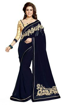 c09d0e1dc88d8b online shopping for Sourbh Mirchi Fashion Women s Embroidery Latest Indian  Saree Unstitched Blouse Piece from top store. See new offer for Sourbh  Mirchi ...