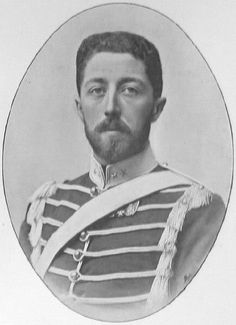 King Oscar II (1829-1907) was King of Sweden and King of Norway.  He was the third king in the highly successful elected Bernadotte Dynasty.  King Oscar II married Sophia of Nassau.  They had four sons.