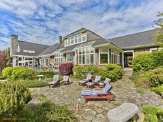 Beautiful 11,000 sq.ft. home on Penobscot Bay in Brooksville, Maine. Listed by The Swan Agency Sotheby's International Realty.