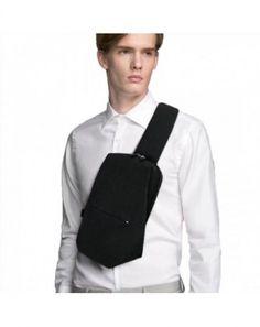74bc1b4a08f3 Small Sling Backpack Waterproof Sling Bag One Shoulder Crossbody Backpack  Bag for Men & Women - Black - C41870E0EHR