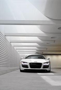 My car sitting in my underground garage