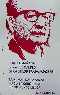 Salvador Allende, died on 11th September 1973