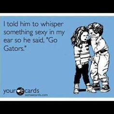 #gogators  Let the trash talk begin ... Can't wait for football season ..