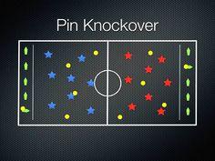 P.E. Games - Pin Knockover