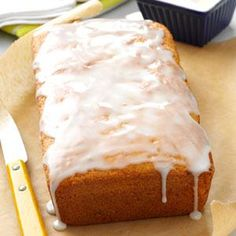 Key Lime Bread Recipe from Taste of Home -- shared by Joan Hallford of North Richland Hills, Texas