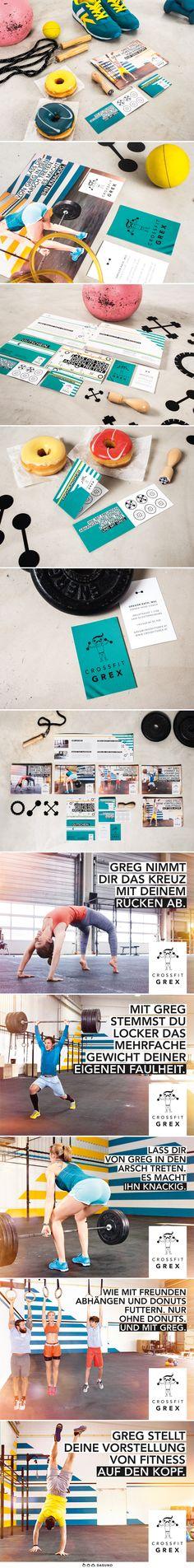 DASUNO // Client: CrossFit Grex // Print // 2015
