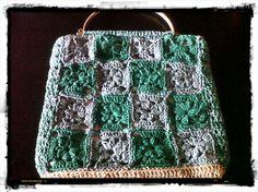 Bolso vintage a crochet #crochet #ganchillo #DIY