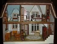 greenleaf tudor dollhouse finished interiors - Google Search