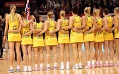 2016344e8c8 The Australian Netball Diamonds have left Australia and are on their way to  take on England