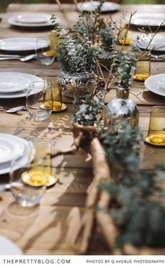 festive, rustic autumn table. Thanksgiving?