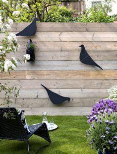 Dynamiser un mur jardin