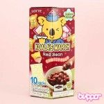Lotte Koala March Red Bean Biscuits - Family Pack
