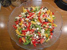 Griechischer Hirtensalat à la Gabi, ein gutes Rezept aus der Kategorie Käse. Bewertungen: 10. Durchschnitt: Ø 4,5.