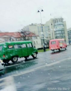 Not even this British style weather has to stop the adventure in Warsaw.