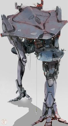 Insprational pictures of robot, spaceship and some not so human anatomy.: