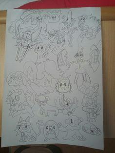 Pokemon sun and moon / pokemon sol y luna :3