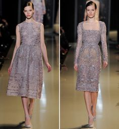Like the dress on the right side [Elie Saab – Spring 2013]