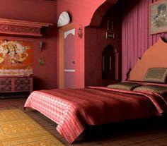 India Luxury bedrooms | Indian Style Bedroom Design | Luxury Interior Design | Home ...
