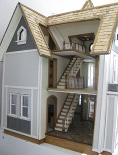 Jenn's Mini Worlds' Greenleaf Fairfield Dollhouse