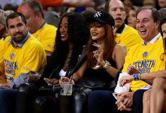 Rihanna Photos - 2015 NBA Finals - Game One - Zimbio