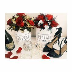Gold flowerbox and silver flowerbox Zlatni flowerbox i srebrni flowerbox