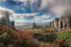 The Valley Of Fog by Elia Locardi (Kalambaka, Greece)