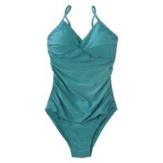 Merona® Womens Twist Front 1-Piece Swimsuit