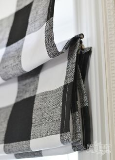 Fresh & New DIY Roman Shades Learn how to make Roman Shades! DIY Roman Shades are trending, easy to make and are fresh and fun inexpensive window treatments!