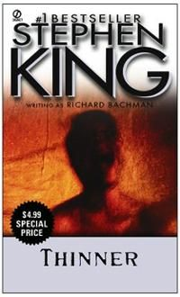steven king book covers | Books: Thinner (Book) by Stephen King (Author)