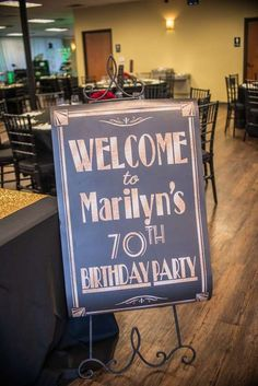 Marilyn's 70TH Birthday Bash | CatchMyParty.com