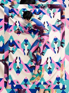 Bodypaint Collaboration for MINNA PARIKKA on Behance