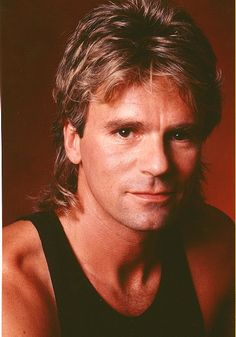 The mullet was one of the most common hairstyles for men of the ...