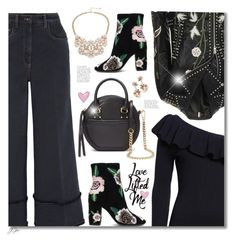 """""""A Little Bit of Rebecca Minkoff"""" by jgee67 ❤ liked on Polyvore featuring Rebecca Minkoff, Miu Miu, Topshop, Design Lab, polyvoreblogger and polyvoreeditorial"""