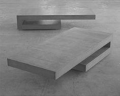 Concrete Furniture, Concrete Table, Urban Furniture, Unique Furniture, Furniture Projects, Table Furniture, Home Furniture, Furniture Design, Beton Design