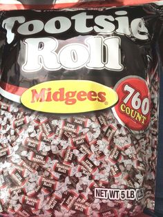 Tootsie Roll Midgees Candy Bag for sale online Chewy Candy, Candy Theme, Nut Free, Gourmet Recipes, Tootsie Rolls, Roast, Chocolate, Baking, The Originals
