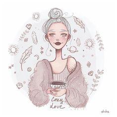 Character Design~ By Alisha Painting Inspiration, Art Inspo, Character Drawing, Character Design, Girl Sketch, Pretty Art, Cute Drawings, Love Art, Watercolor Art