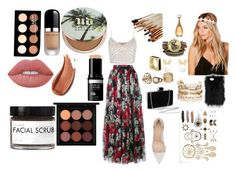 """verano"" by mafecastilloescobar on Polyvore featuring moda, Dolce&Gabbana, New Look, Gianvito Rossi, Boohoo, Panacea, Lipsy, Urban Decay, Marc Jacobs y NYX"