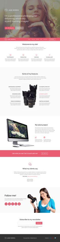108 best Free Website Templates images on Pinterest | Free website ...