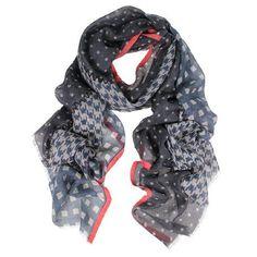 DLUX Lina Print Wool Silk Scarf – Sally Anne Sally, Wool, Accessories, Fashion, Moda, Fashion Styles, Fasion, Ornament