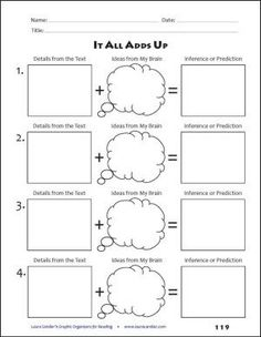 50 best Math Graphic Organizers images on Pinterest