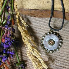Shotgun Shell Pendant ~ WINCHESTER 12 Gauge ~ Gifts Under 25 ~ Hottest Fashion  J32 by RusticSpoonful on Etsy