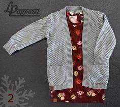 Vest: Grey Bohemian / Jersey: Vintage Burgundy Tunic *L&P exclusive*