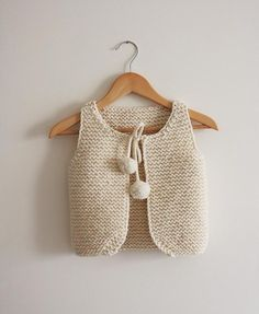 Lil Shepherd Vest Knitting pattern for children. Find this adorable pattern and more baby knitting inspiration at LoveKnitting. Knitting Blogs, Knitting For Beginners, Baby Knitting Patterns, Knitting Designs, Baby Patterns, Free Knitting, Knitting Projects, Knit Vest Pattern, Big Knit Blanket
