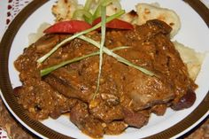 Food And Drink, Beef, Recipes, Red Peppers, Meat, Ripped Recipes, Cooking Recipes, Steak