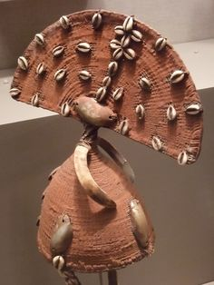 Woven Lega Hat of the Bwami Society Zaire century CE Congo, African Hats, Headdress, Native American, Texas, Sculpture, Inspiration, African Jewelry, Art