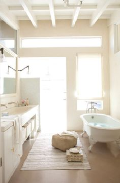 from http://www.amyneunsinger.com/ - I keep looking for a bathroom to inspire me - that might be the one...