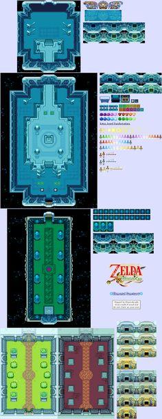 The Legend Of Zelda: The Minish Cap Sprites